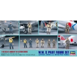 1:48 WWII Pilot Figure Set