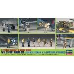 1:72 WWII Pilot Figure Set