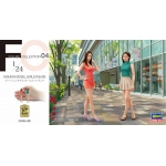 1:24 Fashion Model Girls Figure - Two figures in one box