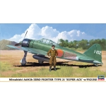 1:48  A6M2b Zero Fighter Type 21 With Figure