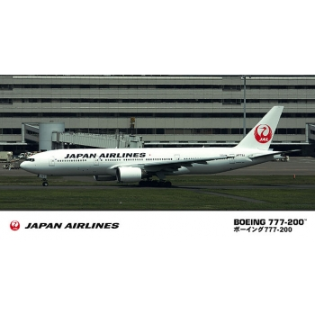 1:200 Jal B777-200 New Logo Marking