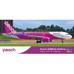 1:200 Peach Airbus A320NEO