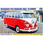 1:24 VW Type 2 Micro Bus with Windows