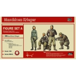 1:20 MA.K. Figure Set A Mercenary Troops - Cold Gear