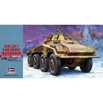 1:72 SD KFZ 234/1 8 Rad Schwere Panzerapahwagen