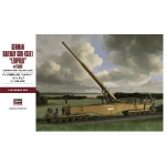 1:72 German Railway Gun K5(E) Leopold with Figures
