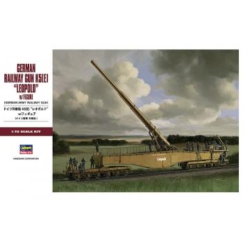 1:72 German Railway Gun K5(E) Leopold with Figures