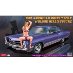 1:24 1966 American Coupe Type P with Blond Girl Figure