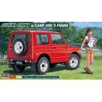 1:24 Suzuki Jimny W/Camp Girl's Figure