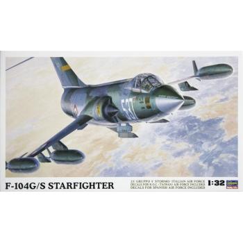 1:32 Lockheed F-104G/S World Starfighter