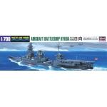 1:700 IJN Aircraft Battleship Hyuga