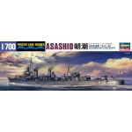 1:700 Japanese Navy Destroyer Asashio - Waterline Model Kit