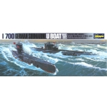 1:700 German U-Boats 7C and 9C