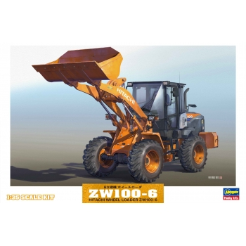 1:35 Hitachi Wheel Loader ZW100-6