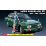 1:24 Datsun Bluebird 1600 SSS With Figure