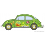 1:24  Volkswagen Beetle Type 1 Flower Power