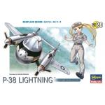 P-38 Lightning Egg Plane