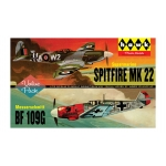 1:72 Spitfire Mk22 and Me109 Twin Pack