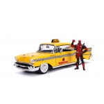 1:24 Taxi and Deadpool Figure