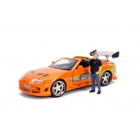 1:24 1994 Toyota Supra Mk IV With Brian O'Conner Figure