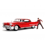1:24 1958 Cadillac Series 62 With Freddy Krueger Figure