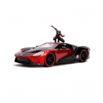 1:24 2017 Ford GT With Miles Morales Figure