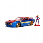 1:24 1973 Mustang Mach 1 with Captain Marvel Figure