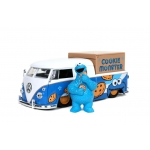 1:24 VW Bus and Diecast Talking Cookie Monster Figure