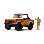 1:24 1973 Ford Bronco & Randy Savage Figure