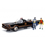 1:18 1966 Batmobile With Figures and Working Lights