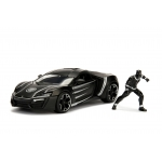 1:24 Lykan Hypersport w/Black Panther Figure