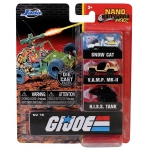 NANO GI Joe 3 Vehicle Assortment
