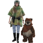 1:6 Leia and Wicket Figure Set