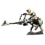 1:6 Scout Trooper and Speeder Bike collectible set