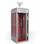 Bill and Ted Phone Booth Playset