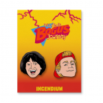BTBJ Bill and Ted Lapel Pin Set