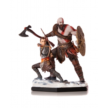 1:10th Kratos and Atreus Deluxe Art Scale Statue