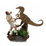 1:10 Clever Girl Deluxe Art Scale Statue - Jurassic Park