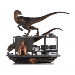 1:10 Velociraptors in the Kitchen Diorama Art Scale Diorama