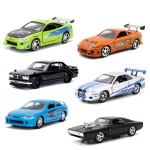 1:32 Fast and Furious PDQ Asst W8 x 6pcs