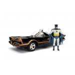 1:24 1966 Batmobile with Batman and Robin Figures