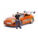 1:18 FF 1995 Toyota Supra With Brian Figure
