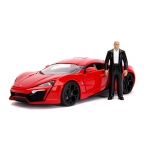 1:18 FF Lykan Hypersport With Dom Figure