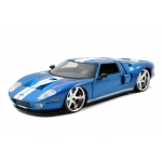 1:24 2005 Ford GT - Blue
