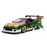 1:24 2009 Honda NSX Type R and Green Power Ranger Figure