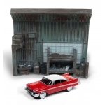 1:64 Christine Plymouth Fury with Garage Diorama