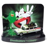 1:64 Ghostbusters ECTO-1A With Slimer