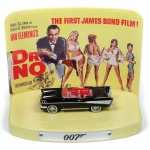 1:64 James Bond Dr. No 1957 Chevy BelAir With Collectors Display