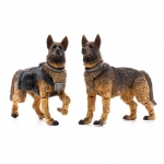 1:18 Military Dogs x 2 Action Figures