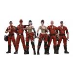 1:18 Mech Maitenance Team B Set of 6 Action Figures